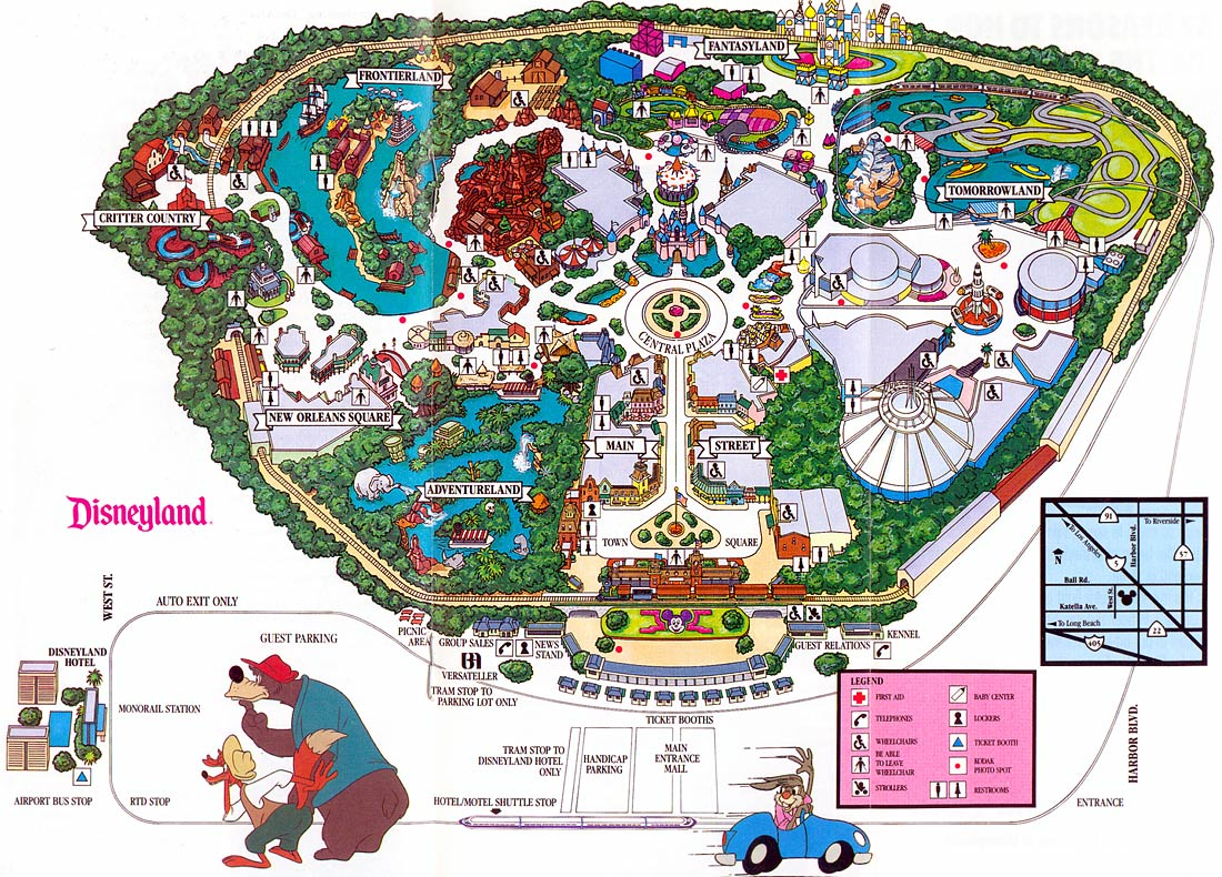 Graphic Design   Project   Map Project  Arts And Justice - Los angeles map disneyland