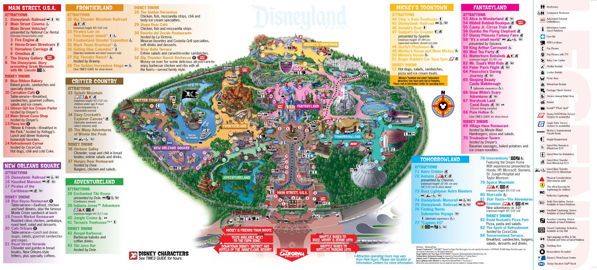 Disney Land Map disneyland map – Arts and Justice Disney Land Map