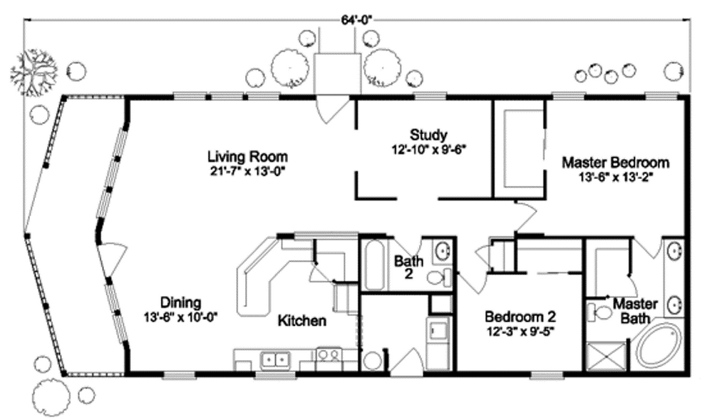 Surprising Tiny House Floor Plan With Two Bedrooms Plete With Bathroom Home Interior And Landscaping Ologienasavecom